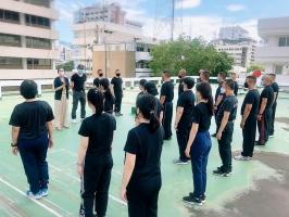 แผนการฝึกตามแบบฝึกพระราชทานฯ ของข้าราชการตำรวจในสังกัด